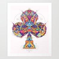Trefle Art Print