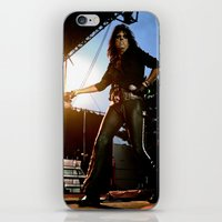 Alice Cooper Fence Stance iPhone & iPod Skin