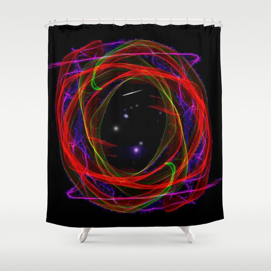 Vacancy / Portal Shower Curtain