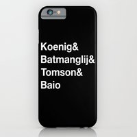 iPhone & iPod Case featuring Helvetica Weekend  by hi, my name is monica