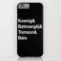 Helvetica Weekend  iPhone 6 Slim Case
