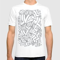 And Another Flock Mens Fitted Tee White SMALL