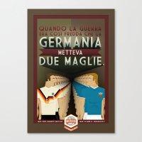 Poster Nostalgica - Germ… Canvas Print