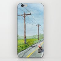 Afternoon Bike Ride iPhone & iPod Skin