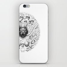 Losing My Soul In You iPhone & iPod Skin
