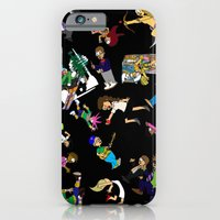 iPhone & iPod Case featuring 2014 Cartoons 1 by Reid