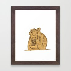 AAAAAHHHHHHHHHHHHHH!!! Framed Art Print