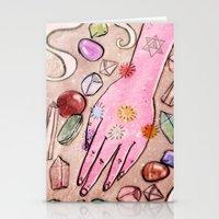 Hand Chakra Stationery Cards