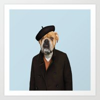 Monsieur Chapeau Art Print