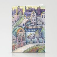 My little town Stationery Cards