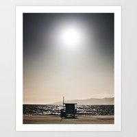 Venice Beach California … Art Print