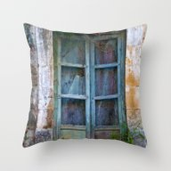 Abandoned Sicilian House… Throw Pillow