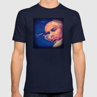 BREAKING BAD 4 Mens Fitted Tee Navy SMALL