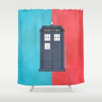 10th Doctor - DOCTOR WHO Shower Curtain