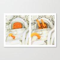 Burster Time-Lapse Canvas Print