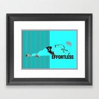 Brian Laudrup – Effort… Framed Art Print