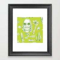 Beachure Framed Art Print