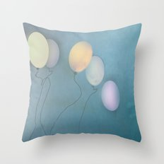 Up, up and away Throw Pillow