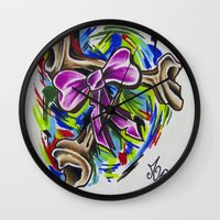 Coloured By Confusion Wall Clock