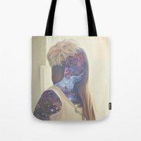 Galaxy Girl Tote Bag