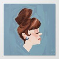 Ginger Cutie Canvas Print