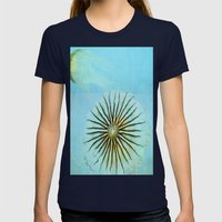 Transparent-Sea Womens Fitted Tee Navy SMALL