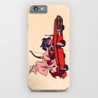 iPhone & iPod Case featuring Because Boomerangs by Blue