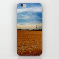 Wheat Field iPhone & iPod Skin