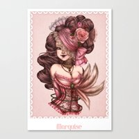 Marquise Canvas Print
