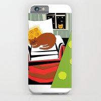 Christmas cat iPhone 6 Slim Case