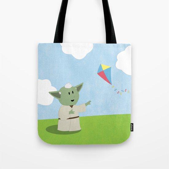 SW Kids - Yoda Kite Tote Bag