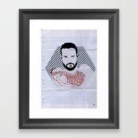 Beard02 Framed Art Print