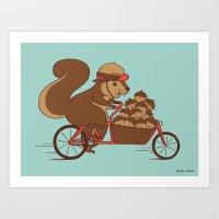 Precious Cargo Art Print