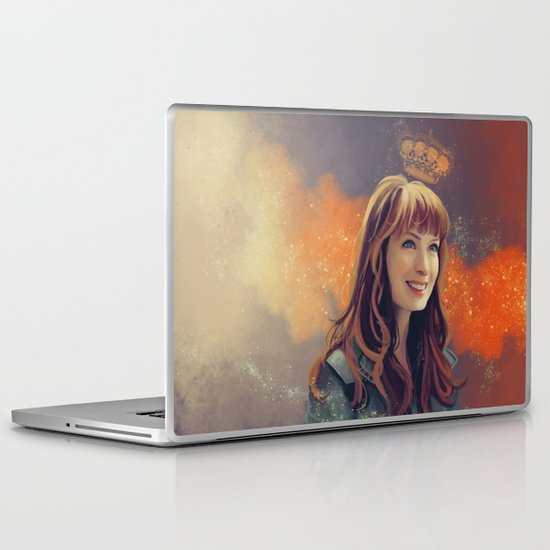 charlie Bardbury - Supernatural Laptop & iPad Skin