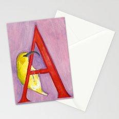 A for 'Akiapola'au Stationery Cards