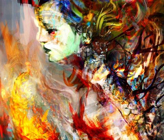 fading away Art Print