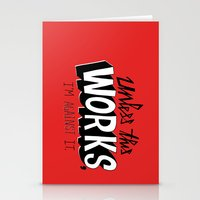 Mad Men: Unless this work, I'm against it. Stationery Cards