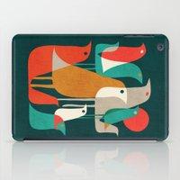 Flock Of Birds iPad Case