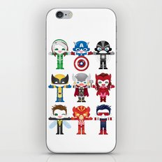 'UNCANNY AVENGERS' ROBOTICS iPhone & iPod Skin