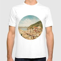 Not All Who Wander Are L… Mens Fitted Tee White SMALL
