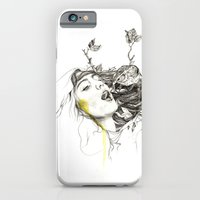 iPhone & iPod Case featuring Bird Feeding by Jessica Feral