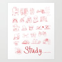 Study... Art Print