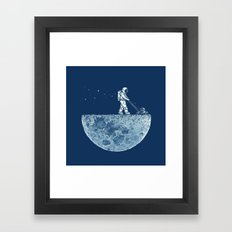 Mown Framed Art Print