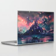 Laptop & iPad Skin featuring The Lights by Alice X. Zhang