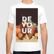 Consume Mens Fitted Tee White SMALL