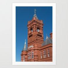 Pierhead Building Cardiff Bay Art Print