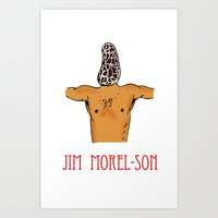 Jim Morel-son Art Print
