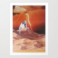 collage 23 Art Print
