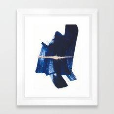 brush strokes 4 Framed Art Print