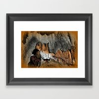 The Little Old Hunter -s… Framed Art Print